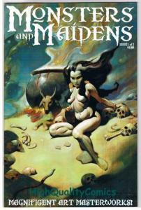 MONSTERS & MAIDENS #1, VF+, Pin-ups, Mike Hoffman,2003, more indies in store