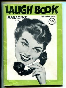 Charley Jones Laugh Book 9/1958-Jayhawk Press-cartoons-gags-VG/FN