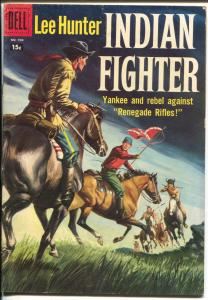 Lee Hunter Indian Fighter-Four Color Comics #904 1958-Dell-FN