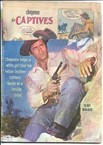 Cheyenne #20 1961-Dell-Clint Walker photo cover-P