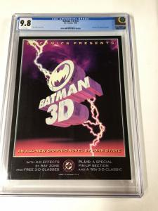 Batman 3-D 3D Cgc 9.8 White Pages John Byrne Dc Graphic Novel