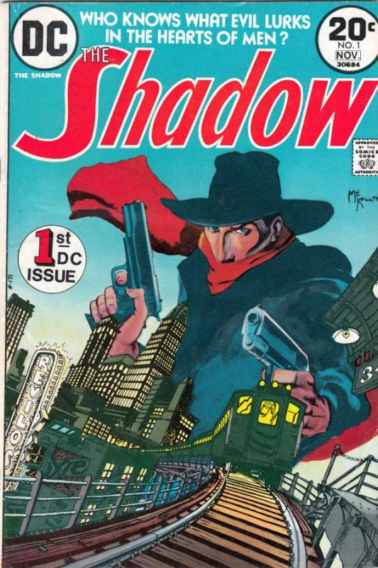 Shadow, The #1 (Nov-73) FN- Mid-Grade The Shadow, Lamonte Cranston