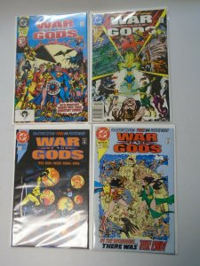 War of the Gods set #1-4 8.0 VF No poster in #2 (1991)