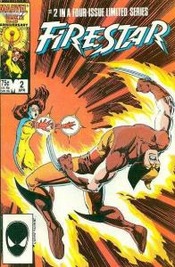Firestar (1986 series) #2, VF+ (Stock photo)
