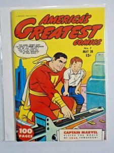 Flashback #32 - America's Greatest Comics 7 - see pics - 7.5 - 1943 1974