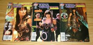 Xena Warrior Princess & Joxer #1-3 FN/VF complete series LUCY LAWLESS VARIANTS 2