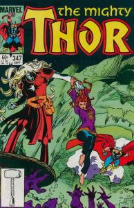 Thor #347 VF/NM; Marvel | save on shipping - details inside