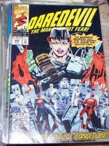 DAREDEVIL  # 306 marvel 1992  spiderman SURGEON GENERAL