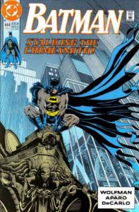 Batman (1940 series) #444, VF (Stock photo)