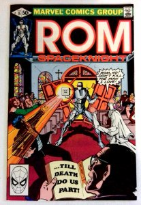 Rom #15 Marvel 1981 VF+ Bronze Age Comic Book 1st Print