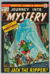 Journey Into Mystery V2 2 Dec 1972 FI- (5.5)
