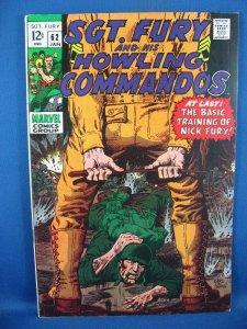 Sgt. Fury #62 (Jan 1969, Marvel) VF