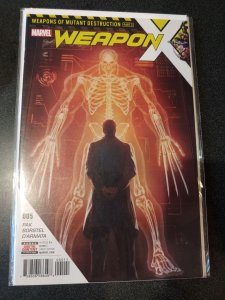 WEAPON X #5 BEGINNING OF WEAPON H