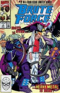 Brute Force #2, VF+ (Stock photo)