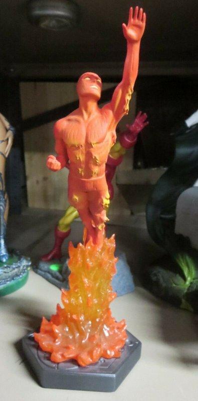 THE HUMAN TORCH by Bowen designs STATUE! #674/4000 NO BOX! Fantastic Four