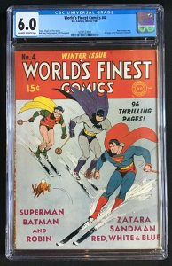 World's Finest Comics #4 (1941)