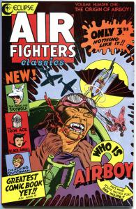 AIR FIGHTERS CLASSICS #1 2 3 4 5 6 , VF/NM, 1987, 6 issues, Airboy, SkyWolf