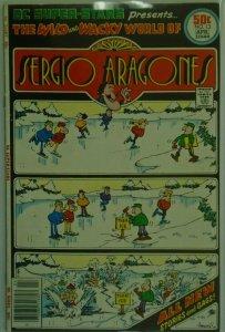 DC Super Stars Sergio Aragones #13 - 4.0 VG - 1977