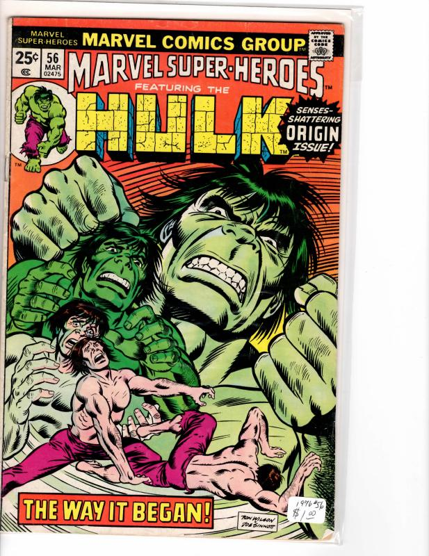 Marvel Super Heroes (1967) 56 Fine+ (6.5)