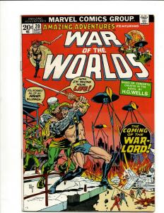 Lot Of 5 Comic Books War of the Worlds 20 36 37 38 39 JF17