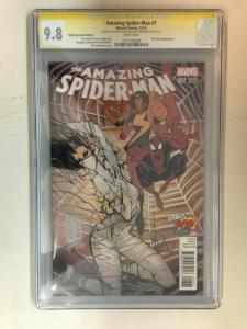 Amazing Spider-Man 7 Total Pop Con Variant CGC 9.8 SS Sienkiewicz & Camuncou