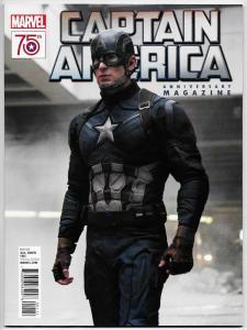 Captain America 75th Anniversary Magazine Movie Photo Cvr (Marvel, 2016) NM