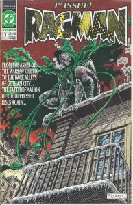 Ragman #1 (Oct 1991) - from a Warsaw ghetto to Gotham City! - DC Comics