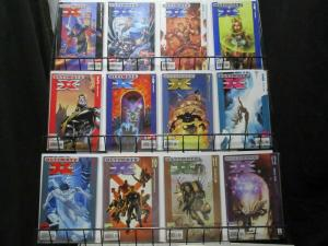 ULTIMATE X MEN (2001-2009) 1-12  the 1st year!