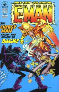 E-Man: Recharged #1 VF/NM; Digital Webbing | save on shipping - details inside