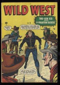 Wild West #1 FN+ 6.5 1948 Two-Gun Kid Begins!