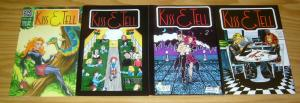 Kiss & Tell #1-3 VF/NM complete series + vol. 2 #1 patricia breen - sirius comic