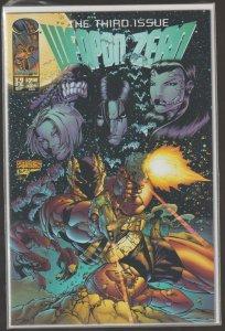 WEAPON ZERO T-2 THE THIRD ISSUE - IMAGE COMICS