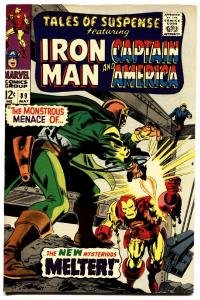 TALES OF SUSPENSE #89 comic book 1967-iron man-CAPTAIN AMERICA