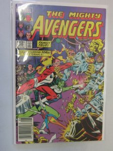 The Mighty Avengers #248 Newsstand 6.0 FN (1984)