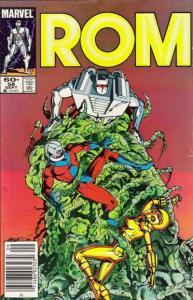 Rom (1979 series) #58, VF+ (Stock photo)