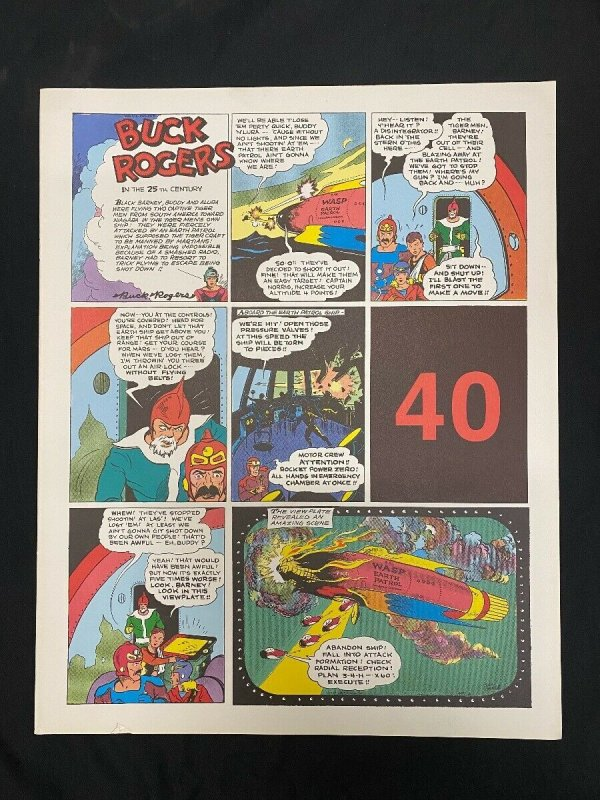 Buck Rogers #40-  Sunday pages #469-480 - large color reprints