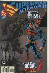 Superman Action comics numero 795