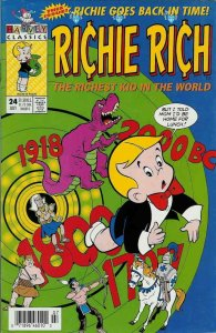Richie Rich (2nd Series) #24 (Newsstand) FN; Harvey | save on shipping - details
