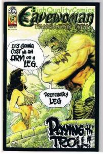 CAVEWOMAN PANGAEAN SEA 10, NM, Gold foil Limited, Budd Root, more CW in store