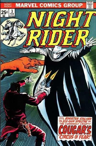 Night Rider #3, VF (Stock photo)