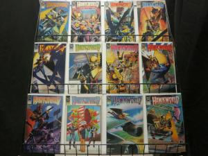 HAWKWORLD 1-32,ANN 1-3  The complete series!