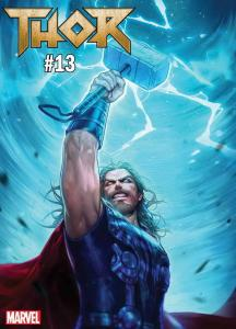THOR (2018 MARVEL) #13 VARIANT HEEJIN JEON MARVEL BATTLE LINES PRESALE-05/29