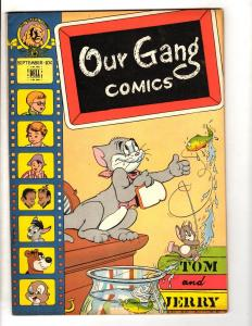 Our Gang Comics # 38 NM- 1947 Little Rascals Golden Age Dell Comic Book JL2