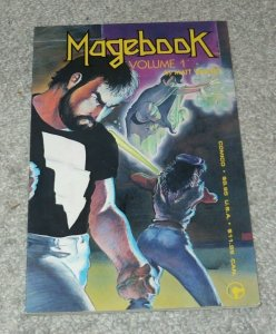 Magebook NM- Volume 1 #1 Matt Wagner 1985 Comico Comic Books GN TPB Superhero
