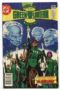 Tales of the Green Lantern Corps #1 1st appearance of Arisia Rrab DC comic book