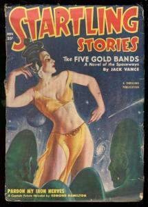 STARTLING STORIES NOV '50-HUBBARD-CAPTAIN FUTURE-BERGEY VG