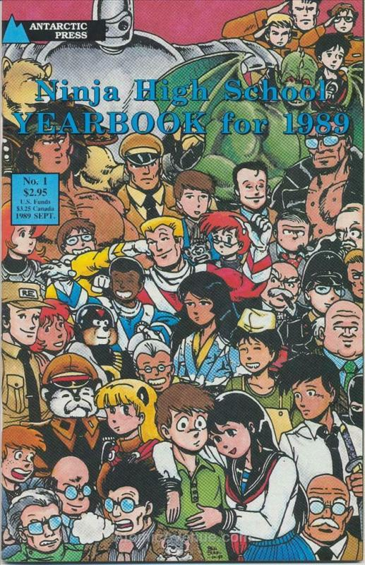 Ninja High School Yearbook #1 FN; Malibu | save on shipping - details inside