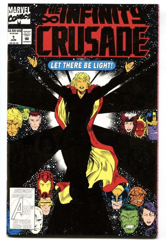 Infinity Crusade #1--comic book Marvel Cosmic-Warlock