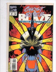 Marvel Comics Ghost Rider / Blaze: Spirits of Vengeance #12 Glow In the Dark