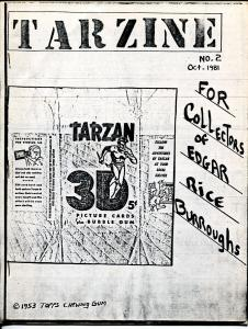 Tarzine #2 10/1981-Weintz-Edgar Rice Burroughs-Tarzan-Collector info-FN/VF